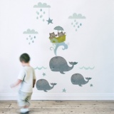 Koko Kids Fabric Wall Stickers (Various Designs)